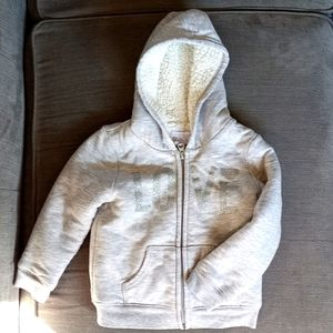 Soft lined hoodie